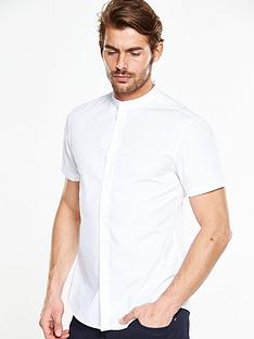 v-by-very-short-sleeve-grandad-shirt