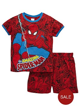 spiderman-short-pyjamas