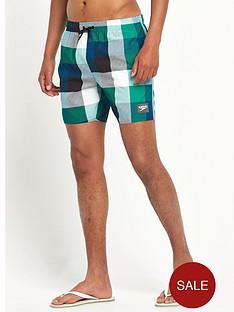 speedo-printed-check-leisure-water-shorts