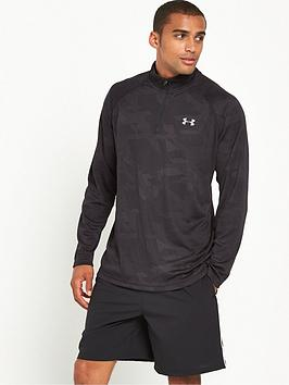 under-armour-tech-jacquard-14-zip-top