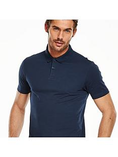 V by Very Short Sleeve Jersey Polo