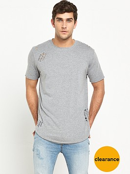 only-sons-distressed-o-neck-tee