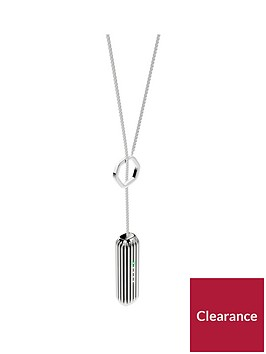 fitbit-flex-2trade-accessory-lariat-pendant-fitness-tracker-not-includednbsp--silver