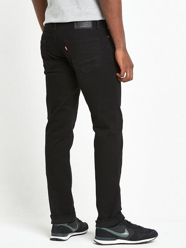 2b874279de82 Levi's 511 Slim Fit Jeans - Black | very.co.uk