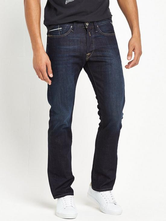 Replay Waitom Regular Slim Fit Jeans  0ae173a2e62e2