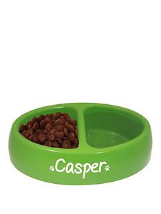personalised-double-pet-bowl