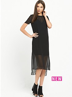 river-island-black-pocket-dress