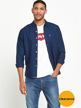 levis-sunset-pocket-checked-shirt