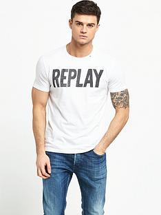 replay-printed-logo-t-shirt