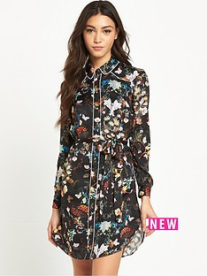 river-island-river-island-floral-print-shirt-dress