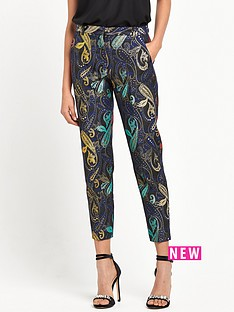 river-island-smart-jacquard-trouser