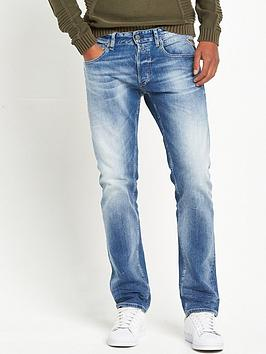 Anbass Straight Fit Jeans