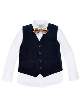 monsoon-boys-paul-velvet-waistcoat-set