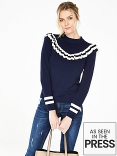 v-by-very-crew-neck-contrast-frilled-yoke-jumpernbsp
