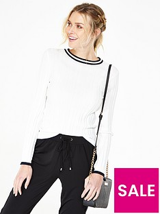 v-by-very-sporty-rib-contrast-tipping-jumper