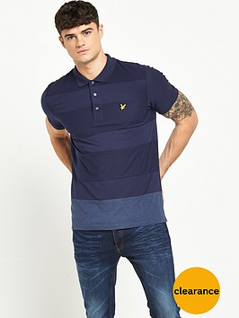 lyle-scott-reverse-stripe-polo-shirt