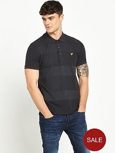 lyle-scott-reverse-stripe-polo-shirt