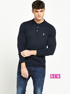 lyle-scott-long-sleeve-knitted-polo