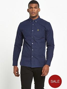lyle-scott-brushed-fleck-long-sleeve-shirt