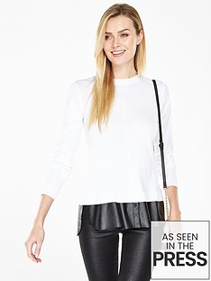 v-by-very-2-in-1-crew-neck-jumper-with-faux-leather-hem