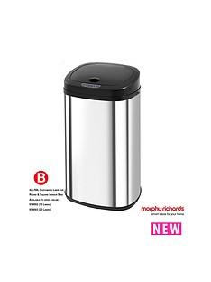 morphy-richards-morphy-richards-chroma-42l-square-stainless-steel-sensor-bin