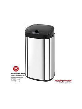 morphy-richards-square-42-litre-sensor-bin-ndash-stainless-steel