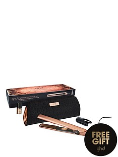 ghd-copper-luxe-v-gold-styler-amp-nails-inc-gift-set-amp-free-ghd-advanced-split-end-therapy-bauble