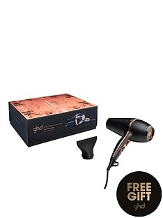 ghd-copper-luxe-air-hair-dryer-gift-setnbspamp-free-ghd-advanced-split-end-therapy-bauble
