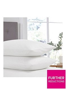 silentnight-easy-care-180-thread-count-cotton-rich-standard-pillowcases-pair-white