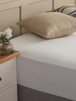 silentnight-easy-care-180-thread-count-cotton-rich-fitted-sheet-white