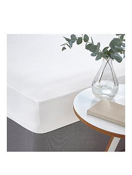 silentnight-easycare-180-thread-count-cotton-rich-fitted-sheet--nbspwhite