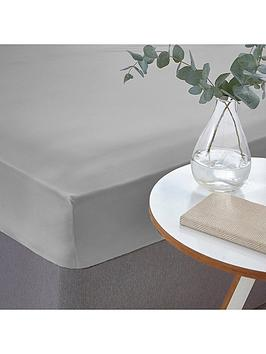 silentnight-easycare-180-thread-count-cotton-rich-single-size-fitted-sheet--nbspsilver