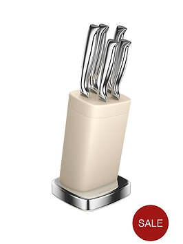 morphy-richards-accents-special-edition-5-piece-knife-block-ndash-sand