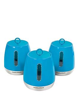 morphy-richards-morphy-richards-chroma-set-of-3-cannisters-iris