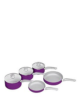 morphy-richards-morphy-richards-chroma-5-piece-pan-set-orchid