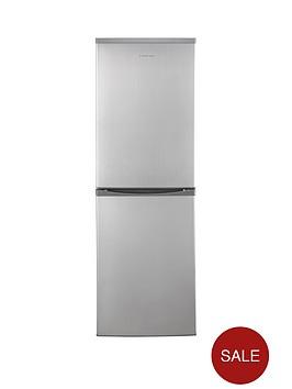 russell-hobbs-rh54ff170s-55cm-wide-173cm-high-fridge-freezer-stainless-steel