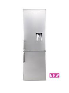 russell-hobbs-rh55ffwd180ss-55cm-wide-180cm-high-freestanding-fridge-freezer-with-water-dispenser