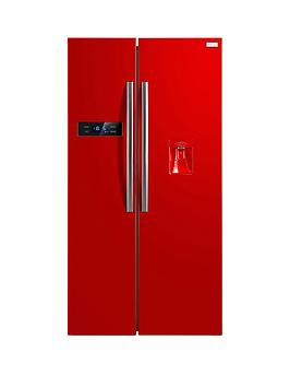 russell-hobbs-rh90ff176r-wd-american-style-fridge-freezer-with-water-dispenser-with-free-extended-guarantee