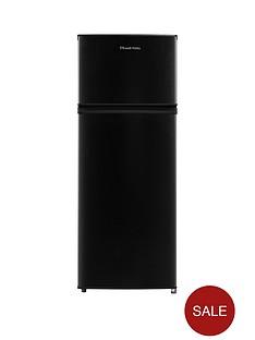 russell-hobbs-rh55tmff143b-top-mounted-55cm-wide-143cm-high-freestanding-fridge-freezer-black