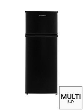 russell-hobbs-rh55tmff143b-top-mounted-55cm-wide-143cm-high-freestanding-fridge-freezer-black