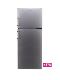 russell-hobbs-stainless-steel-68cm-wide-176cm-high-freestanding-fridge-freezer