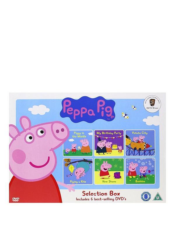 Peppa Pig Selection Box Dvd Very Co Uk
