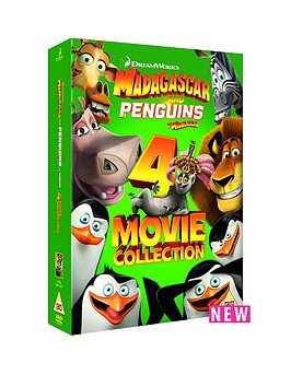 madagascar-and-penguins-of-madagascar-4-movie-collection