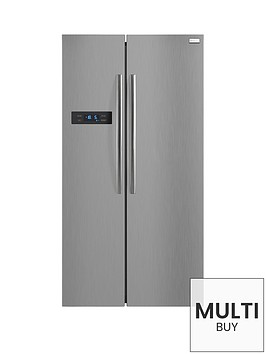 russell-hobbs-rh90ff176ssnbsp90cm-double-door-fridge-freezer-stainless-steel