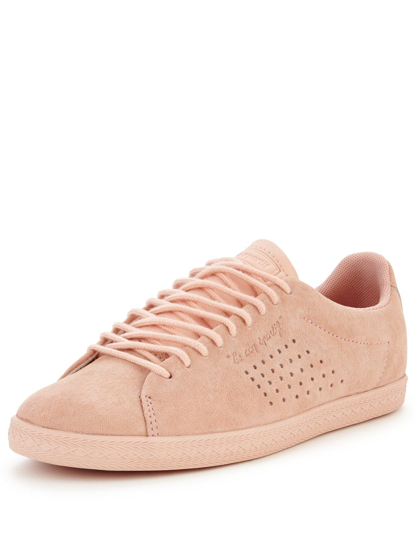 le coq sportif womens shoes pink