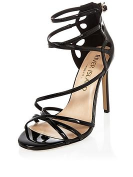 river-island-wide-fit-cross-strap-sandal