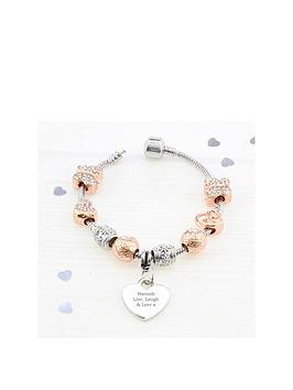 personalisednbsprose-gold-tone-charm-bracelet