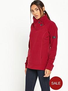 berghaus-pavey-fleece-red