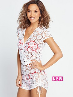 myleene-klass-crochet-beach-playsuit-white