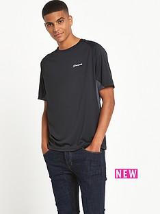 berghaus-tech-short-sleeve-crew-neck-mens-t-shirt-ndash-black